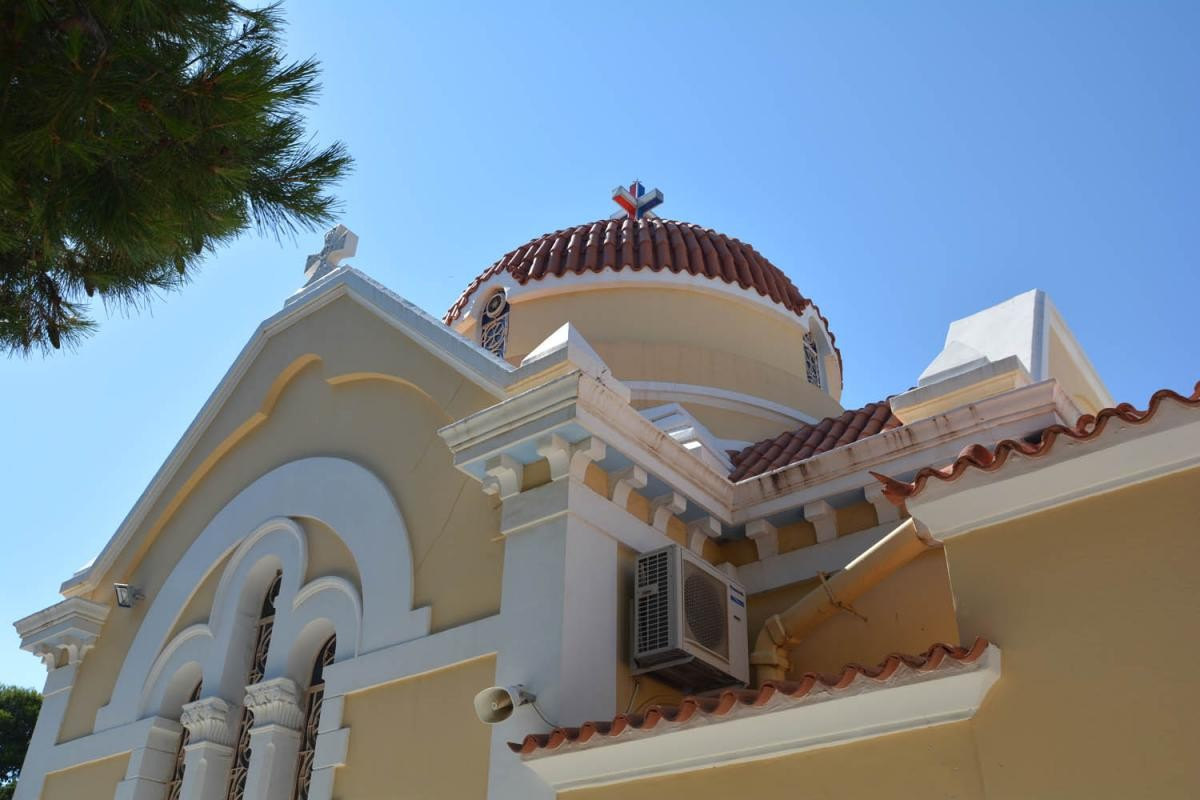 #07 Walking Tour - Church of Saint Konstantinos & Helena